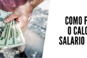 como fazer o calculo salario liquido